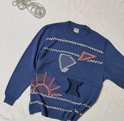 Оригинальный свитер свободного кроя с шерстью ERHA