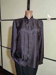 Шелковая рубашка блузка DOLCE & GABBANA Италия