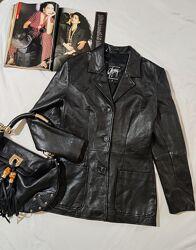 Кожаный пиджак GIPSY by MAURITIUS р. М