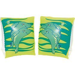 арт. 32042 Нарукавники для плавания Bestway Дельфины от 3х лет. 2 цвета.