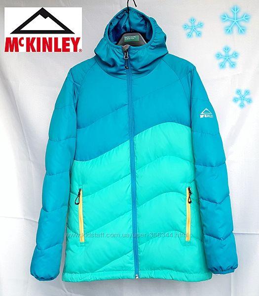 Яркая куртка, пуховик Mckinley 14лет 158-164см