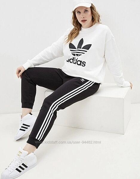 Adidas оригинал спортивные штаны с замками размер С