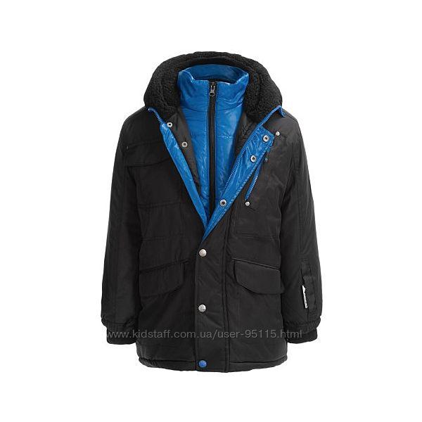 Зимняя очень теплая куртка парка Big Chill Expedition на мальчика 9-11 лет