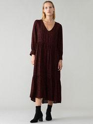 Натуральное платье миди  Lefties - XS, S, M, L