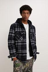 Куртка рубашечного кроя с капюшоном от Zara - S, M, L, XL
