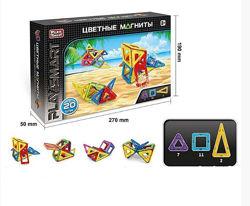Магнитный конструктор PlaySmart 20 деталей  2467 Низкая цена