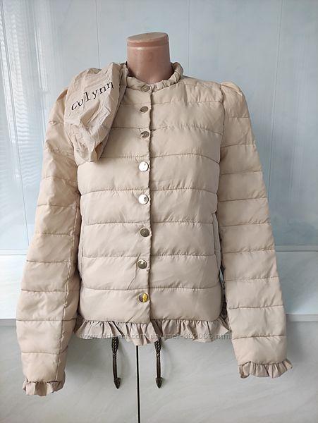 Шикарная  куртка нюдового цвета Colynn размер S  XS