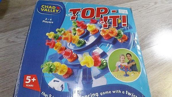 Настольная игра Тop-it   Сhad Valley. Оригинал.