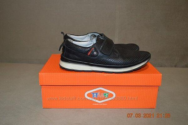 кожаные туфли Tiflani