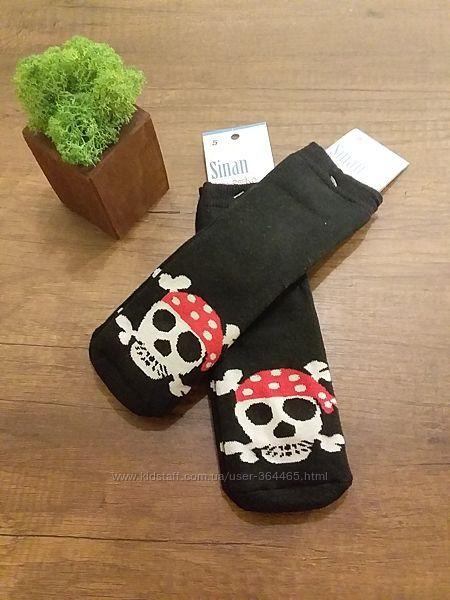 Носки махровые, черепа