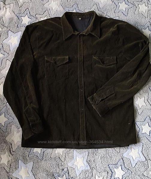 Верхняя рубашка, темное хаки , рубашка-куртка