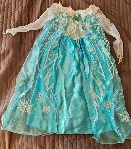 Платье Эльзы, Дисней, 6-8 лет