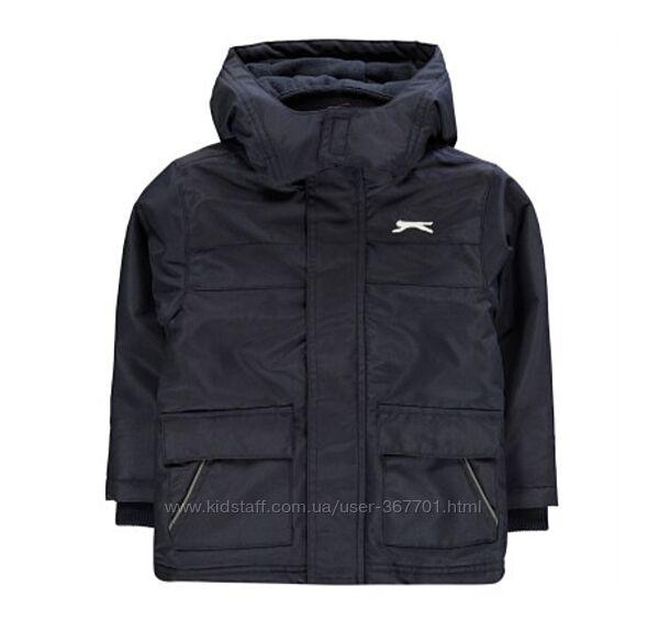 Новая демисезонная куртка Slazenger, 3-4 года, 98-104