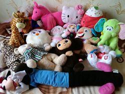 Мягкие игрушки Дисней, 45-65 см.