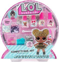 L. O. L. Surprise Confetti Nail Art.  Сделай свой уникальный лак