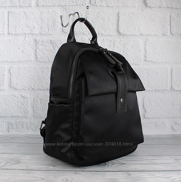 Модный городской рюкзак prada 8064 черный, текстильный