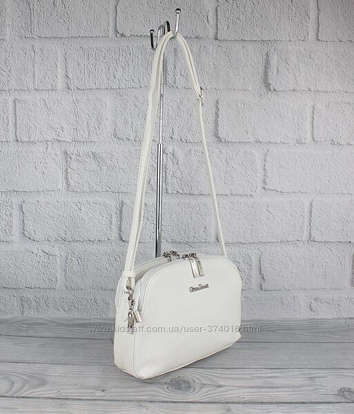 Мягкая, удобная сумочка, клатч gilda tohetti 61412 светлые расцветки