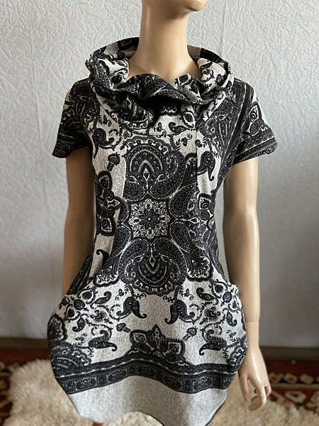Платье теплое, размер М-Л