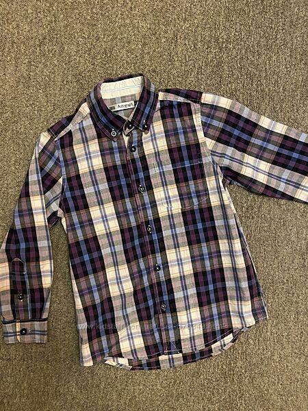 Рубашка marks&spencer, 7-8лет