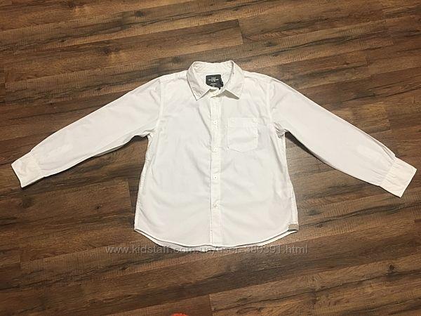Рубашка H&M для мальчика 11-12лет, хлопо