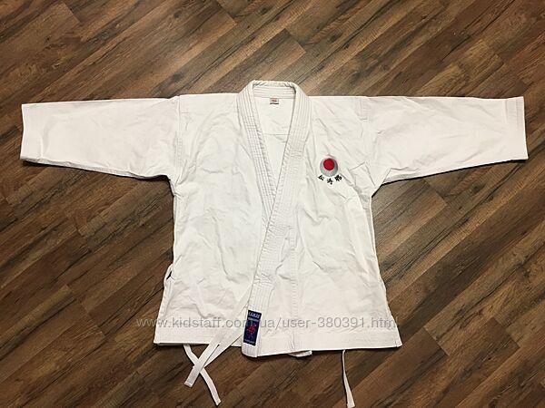 Кимоно кофта очень плотная, Kamae, р.150,100хлопок, 120