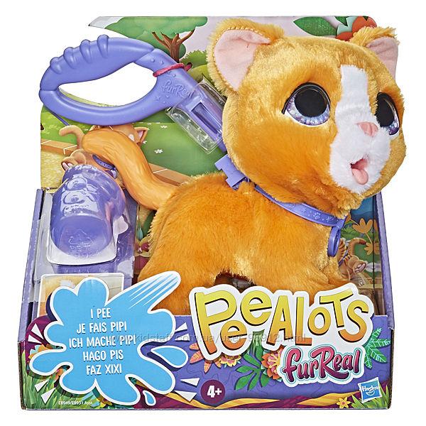 Интерактивная игрушка Котенок на поводке FurReal Peealots Big Wags
