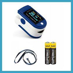 Пульсоксиметр медицинский для измерения пульса и кислорода в крови