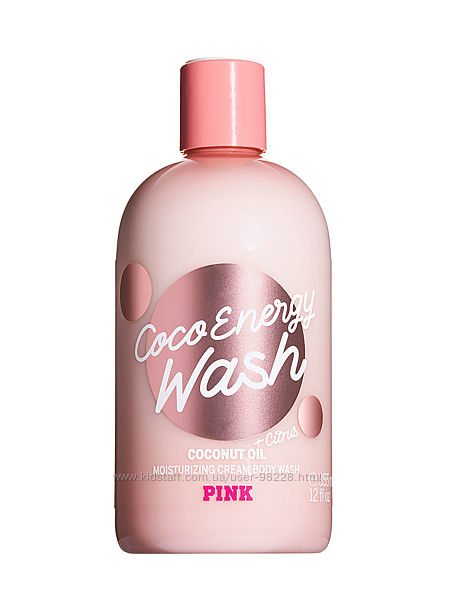Гель для душа VICTORIA&acuteS SECRET pink coco enerdgy wash citrus подарок
