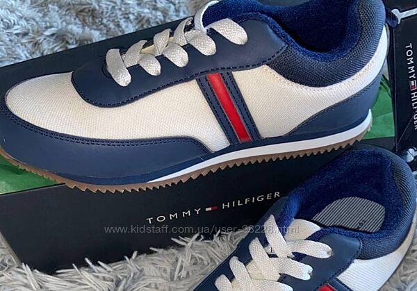 Модные оригинальные кроссовки  Tommy Hilfiger