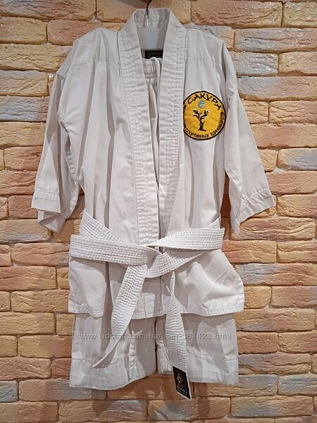 Кимоно белое р. 120