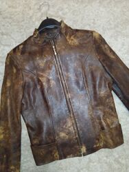 Шкіряна куртка р. S