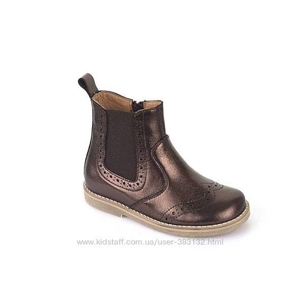 Ботинки для девочки Froddo демисезонные на молнии
