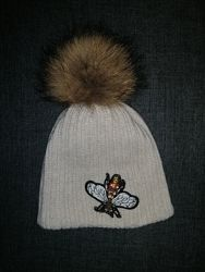 Шикарна зимова шапка Jamiks