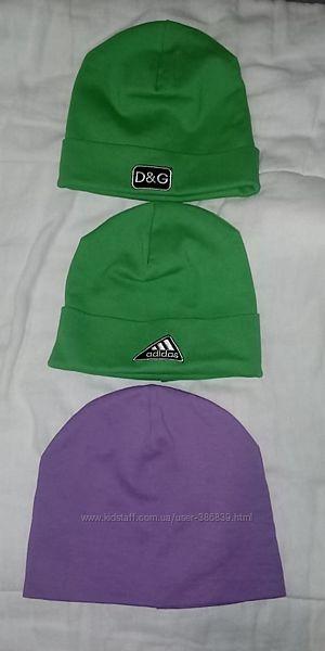 шапки осенние для деток
