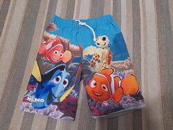 Продам новые классные плавательные шорты Disney Pixar George, 104-110, 4-6л