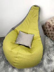 В наличии Кресло мешок груша 130х90 см, смартткань