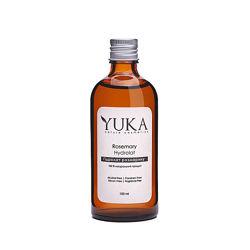 Розовая вода, натуральные гидролаты, гидрозоли без консервантов YUKA