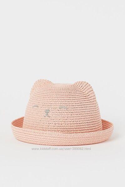 Соломенная шляпа H&M с ушками