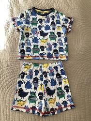 Пижама Mini Club размер 1,5-2 года 86-92 см в состоянии новой