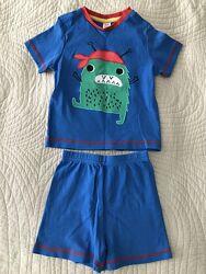 Пижама летняя Mini Club размер 18-24 месяцев 86-92 см идеальном состоянии