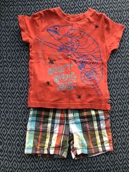 Костюм комплект шорты и футболка на 2-3 года 92-98 см в отличном состояни