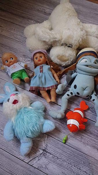 Игрушки детские пакетом. Цена за все
