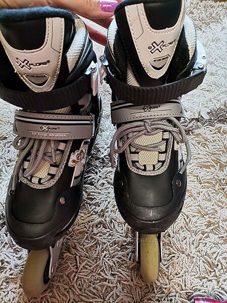 Роликовые коньки раздвижные Explore Inline-Skate, размер М 33-36