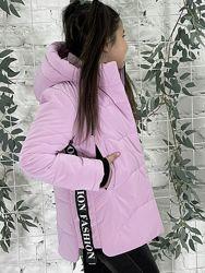 Новинка весна 2021, демисезонная куртка 128-158 см