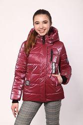 Новинка 2021, демисезонная куртка для девочек 134-158 см.