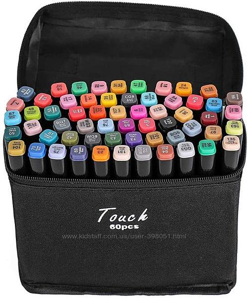 Маркеры для рисования Touch Raven, 60 шт. перманентные маркеры