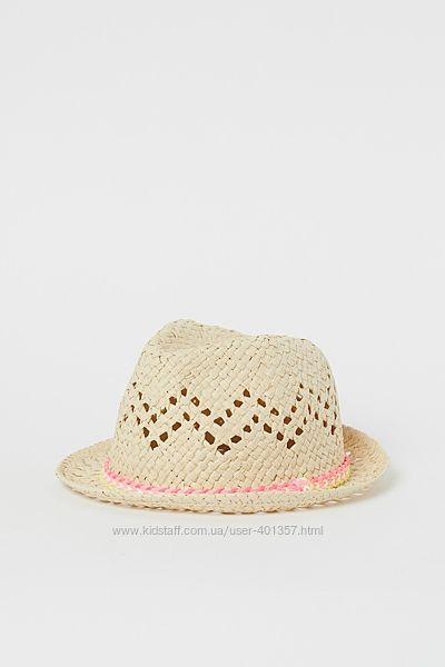 H&M. Шляпа соломенная для девочки Размеры