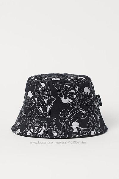 H&M. Крутые модные панамы с Mickey Mouse. Размер 56