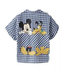 Zara. Супер стильные рубашки. Серия Mickey Mouse DISNEY