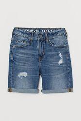H&M. Стильные джинсовые шорты на подростка. Размеры 146 152 158